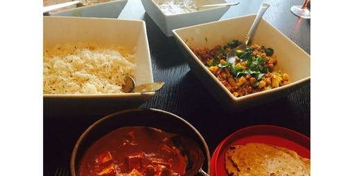 Indian Cooking Class - Group (2019-10-20 starts at 6:00 PM)