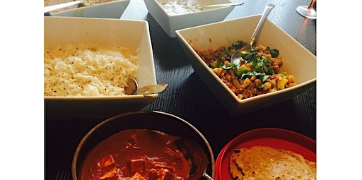 Indian Cooking Class - Group (12-18-2019 starts at 6:00 PM)