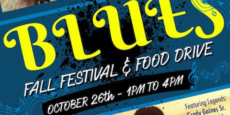 FREE Blues Fall Festival & Food Drive tickets