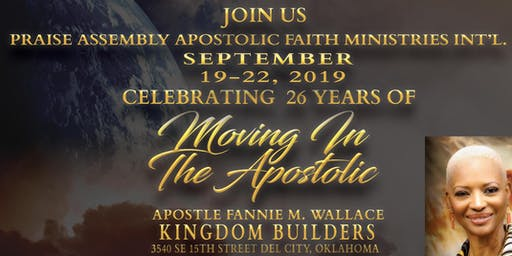 Celebrating 26 years of Moving In the Apostolic