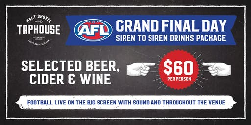 AFL Grand Final at the Malt Shovel Taphouse