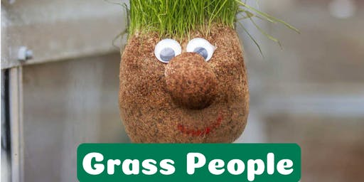 School Holidays - Grass People @ Freeling Library - Nature Play Festival