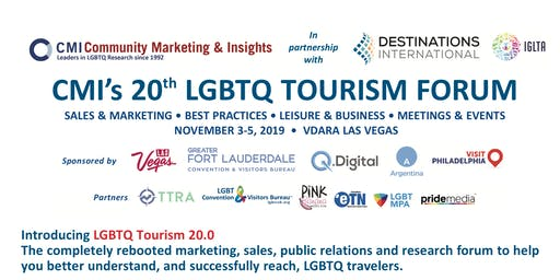 CMI's 20th LGBTQ Tourism Forum