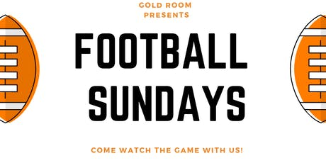 WATCH FOOTBALL LIVE @ GOLD ROOM BK tickets