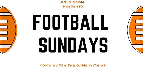 WATCH FOOTBALL LIVE @ GOLD ROOM BK tickets
