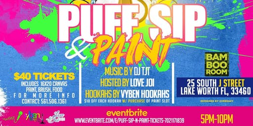 Puff, Sip n Paint