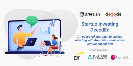 Workshop: Startup Investing DecodEd tickets