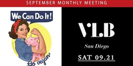 September Meeting: Vegan Ladyboss San Diego