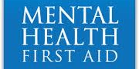 Mental Health First Aid training  tickets