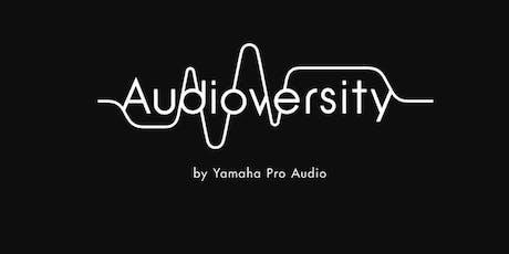 Yamaha Audioversity Adelaide tickets
