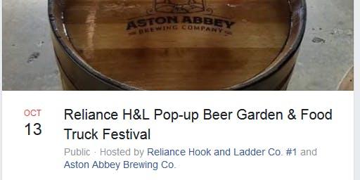 Reliance Hook & Ladder Beer  Garden Fundraiser