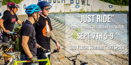 Just Ride photo show rolls into Summit Artspace Sept. 7-Oct. 5