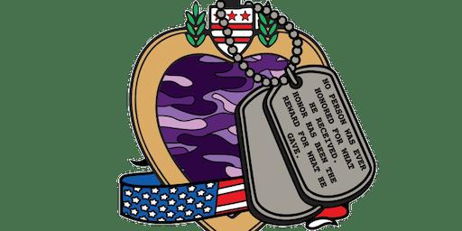 The Purple Heart Day 1 Mile, 5K, 10K, 13.1, 26.2 -Bakersfield