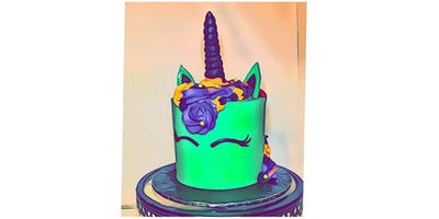 Let's Cake It: Unicorn Witch Cake