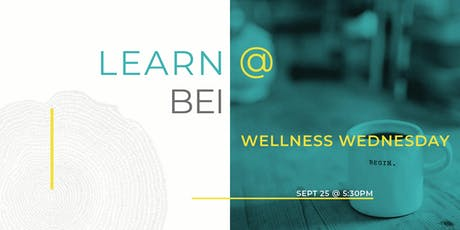 Wellness Wednesday-BEI STRONG - A fitness class that's FUNctional outside. tickets