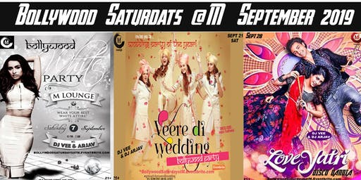 Bollywood Saturdays September