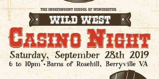 Independent School of Winchester's Casino Night 2019!