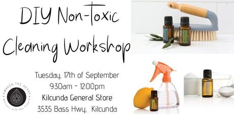 DIY Non-toxic Cleaning Workshop tickets