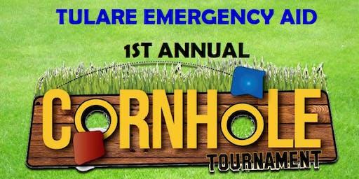 Tulare Emergency Aid's 1st Annual Cornhole Tournament