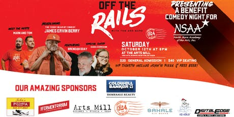 Off the Rails Comedy Night tickets