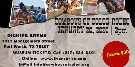 Cowboys of Color Rodeo - Fort Worth tickets