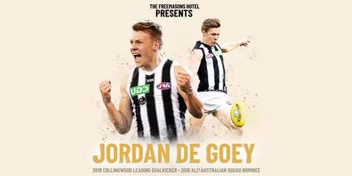 JORDAN DE GOEY at The Freemasons Hotel