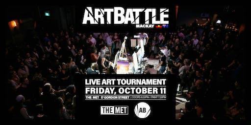 Art Battle Mackay - 11 October, 2019