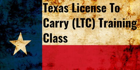 Texas License to Carry (LTC) tickets