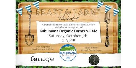 Feast for Farms - Oktoberfest tickets