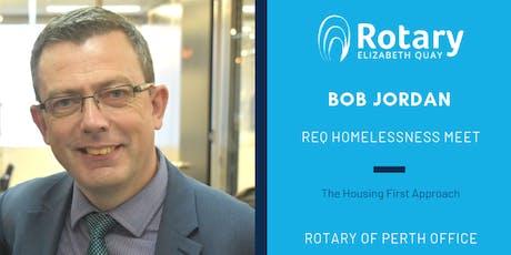 Housing First Approach with Bob Jordan tickets