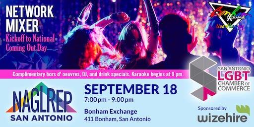 NAGLREP San Antonio & SA LGBT Chamber of Commerce Mixer Sept 18