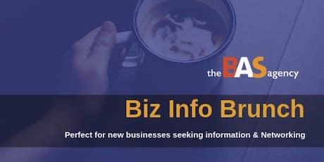 BIZ INFO + NETWORKING BRUNCH tickets
