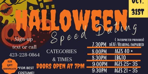 Halloween Speed Dating