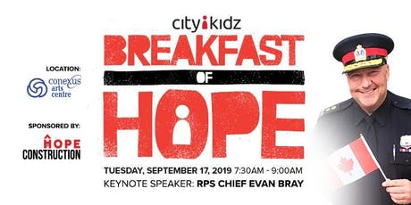 Breakfast of Hope tickets