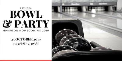 Bowl & Party @ Hampton Homecoming 2019