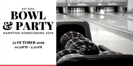 Bowl & Party @ Hampton Homecoming 2019