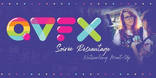 Soiree Réseautage - Q-VFX Montréal - Networking Meet-Up