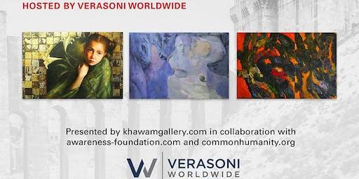 EMERGING ART FROM WAR-TORN SYRIA: WAR & HOPE [Exhibit Opening Reception]