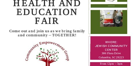 CEG Health and Education Fair tickets