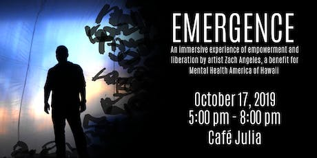 EMERGENCE - an immersive experience with artist Zach Angeles tickets
