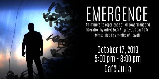 EMERGENCE - an immersive experience with artist Zach Angeles