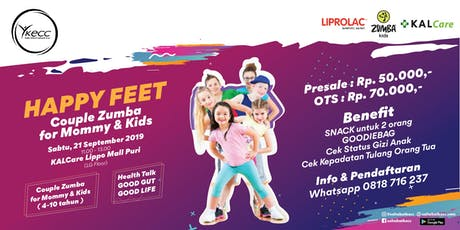 Happy Feet Couple Zumba for Mommy & Kids tickets