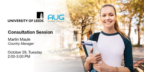 Study in UK at University of Leeds [FREE Consultation-Session] tickets