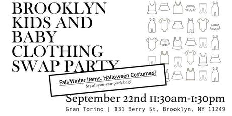 Brooklyn Kids and Baby Clothing SWAP Party FW 2019! tickets