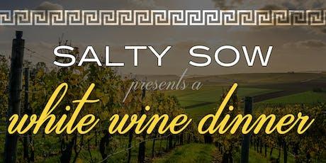 Salty Sow White Wine Dinner tickets