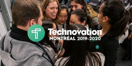 Technovation Montréal - Séance d'information : devenez mentors tickets