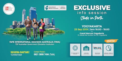 EXCLUSIVE INFO SESSION STUDY IN PERTH