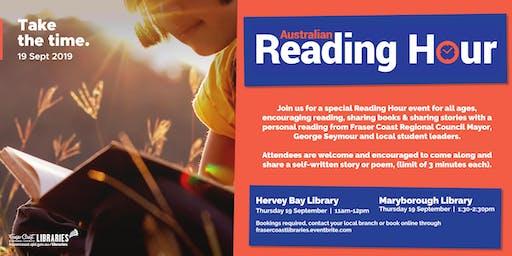 Reading Hour - Maryborough Library