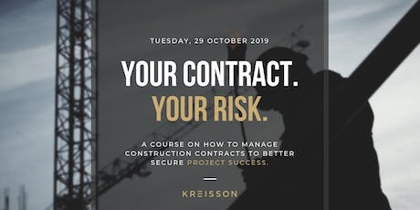 Your Contract, Your Risk tickets
