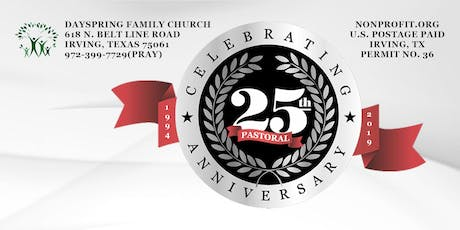 25th Pastoral Anniversary Gala-DFC tickets
